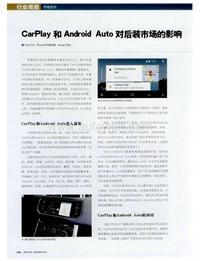CarPlay和AndroidAuto对后装市场的影响-论文