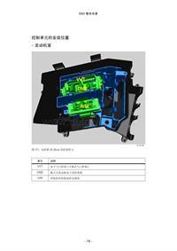 (8).宝马E65、E66控制单元安装位置图