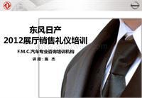 东风日产-2012展厅销售礼仪培训